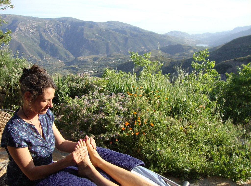 Mountain view Reflexology treatment