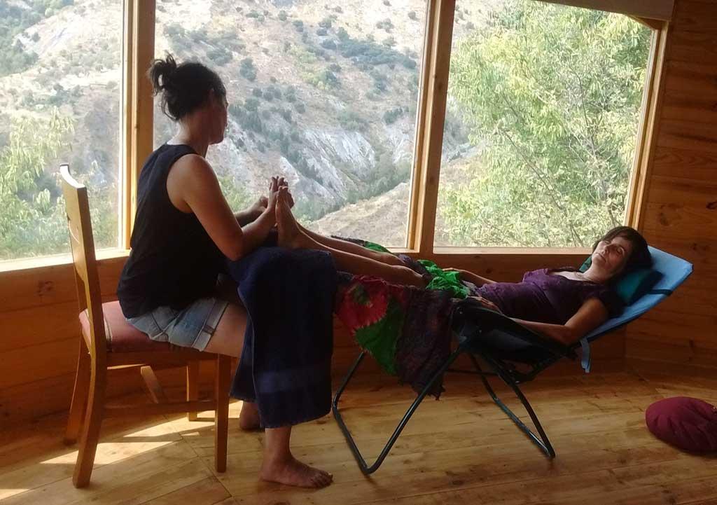 reflexology retreat - mental well-being